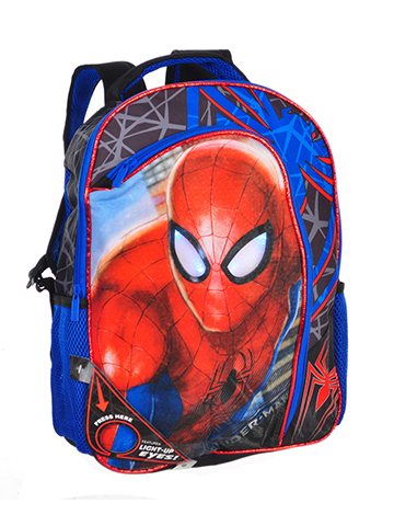 Spider-Man Light-Up Backpack - CookiesKids.com
