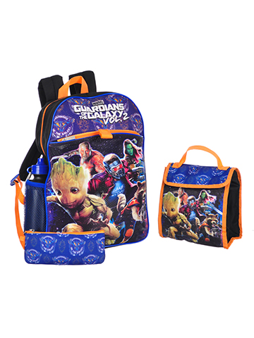 Guardians of the Galaxy 5-Piece Backpack Set - CookiesKids.com