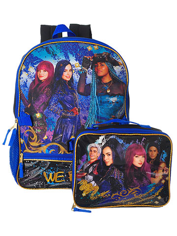Disney Descendants Backpack with Insulated Lunchbox - CookiesKids.com