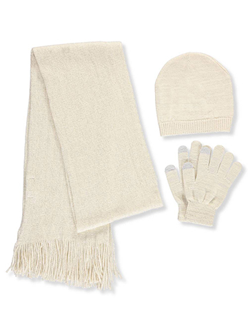 Sag Harbor Girls' 3-Piece Winter Accessories Set (Youth One Size) - CookiesKids.com