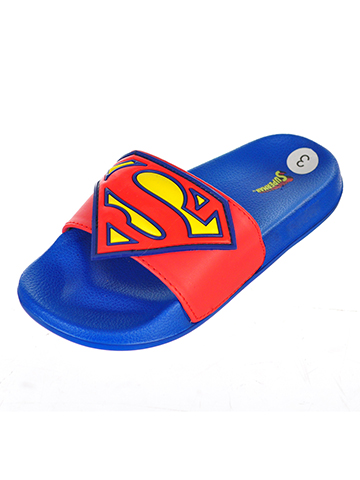 Superman Boys' Slide Sandals - CookiesKids.com