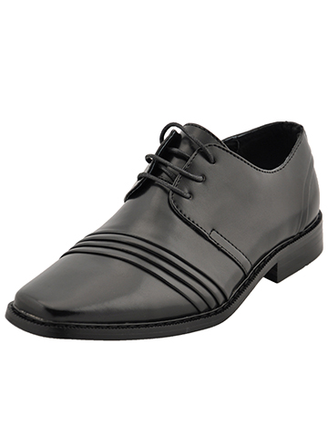"Goodfellas ""Tri-Pleat"" Dress Shoes (Boys Youth Sizes 13 – 4) - CookiesKids.com"