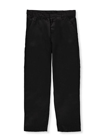 Galaxy Boys' Flat Front School Uniform Pants - CookiesKids.com