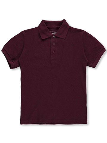 Galaxy School Uniforms Big Boys' S/S Pique Polo (Sizes 8 – 20) - CookiesKids.com