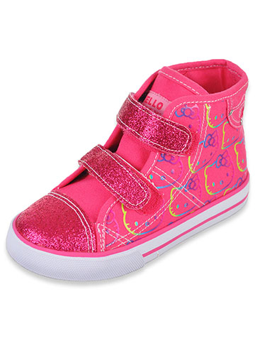 "Hello Kitty Girls' ""Sabrina"" Hi-Top Sneakers (Toddler Sizes 5 – 10) - CookiesKids.com"