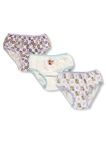 "Disney Frozen Little Girls' Toddler ""Snowflakes"" 3-Pack Panties (Sizes 2T – 4T) - CookiesKids.com"