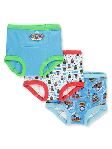 Thomas & Friends Boys' 3-Pack Training Pants & Chart Set - CookiesKids.com