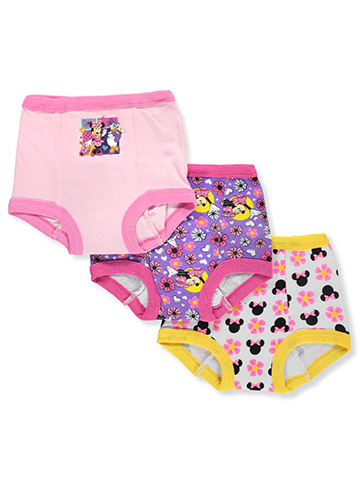 Disney Minnie Mouse Girls' 3-Pack Training Pants & Chart Set - CookiesKids.com