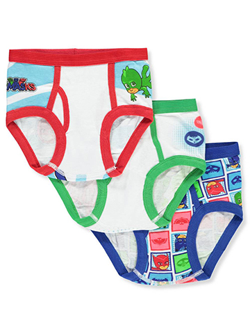 PJ Masks Boys' 3-Pack Briefs - CookiesKids.com