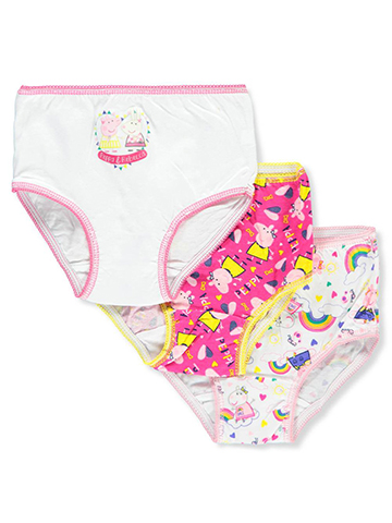 Peppa Pig Girls' 3-Pack Briefs - CookiesKids.com