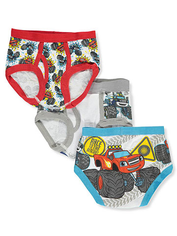 Blaze and the Monster Machines Boys' 3-Pack Briefs - CookiesKids.com