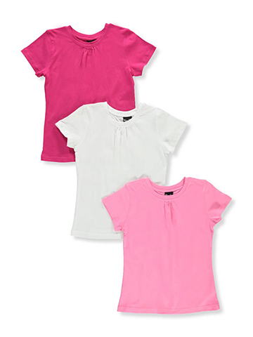 Marilyn Taylor Girls' 3-Pack T-Shirts - CookiesKids.com