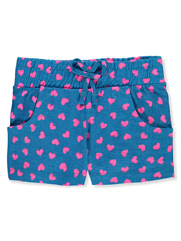 Pink Dot Girls' Short Shorts - CookiesKids.com