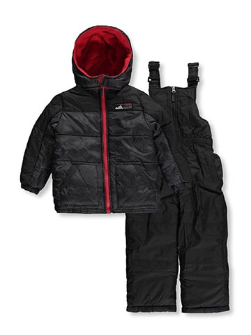 "iXtreme Little Boys' Toddler ""Dot Guard"" 2-Piece Snowsuit (Sizes 2T – 4T) - CookiesKids.com"