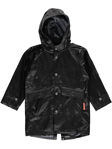 "Wippette Little Boys' Toddler ""Basic Contrast"" Rain Jacket (Sizes 2T – 4T) - CookiesKids.com"