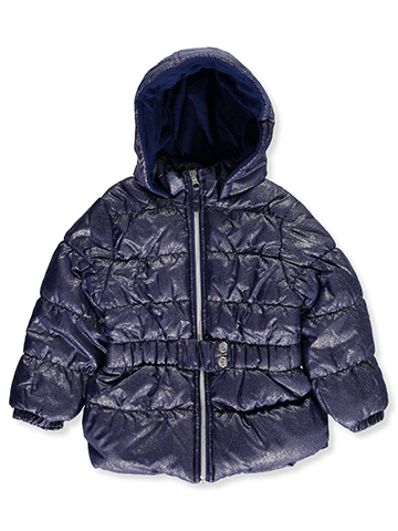 Pink Platinum Little Girls' Insulated Parka (Sizes 4 – 6X) - CookiesKids.com