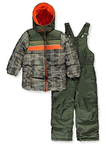 iXtreme Little Boys' Toddler 2-Piece Insulated Snowsuit (Sizes 2T – 4T) - CookiesKids.com