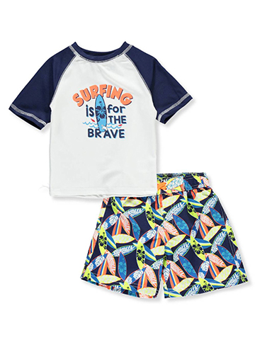 iXtreme Baby Boys' 2-Piece Swim Set - CookiesKids.com