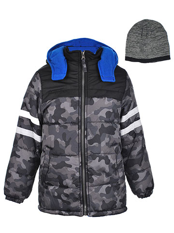 iXtreme Boys' Insulated Jacket with Beanie - CookiesKids.com