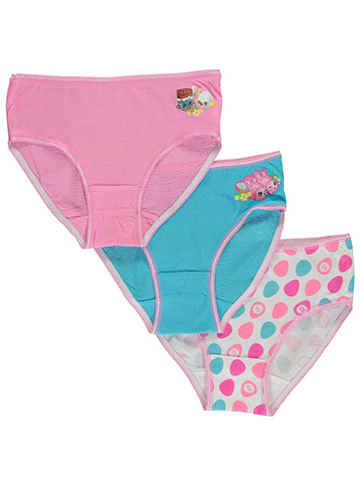 "Shopkins Little Girls' ""Sweet Shop"" 3-Pack Briefs (Sizes 4 – 6X) - CookiesKids.com"