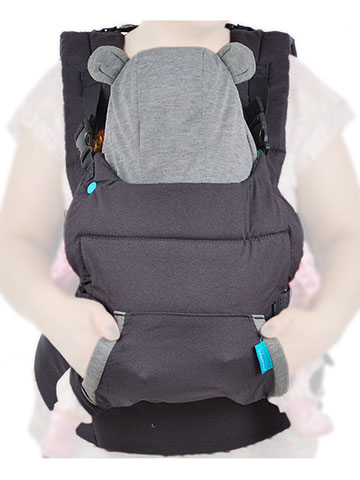 Infantino Cuddle Up Ergonomic Hoodie Carrier - CookiesKids.com