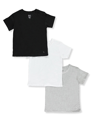 BUM Equipment Little Boys' 3-Pack Crew-Neck T-Shirts - CookiesKids.com