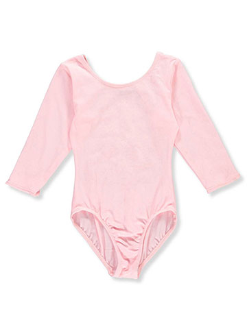 Jacques Moret Little Girls' 3/4 Sleeve Dance Leotard (Size 4 - 7) - CookiesKids.com