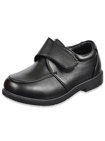 "Josmo ""Donald"" Hook-and-loop School Shoes (Boys Youth Sizes 11 – 3) - CookiesKids.com"