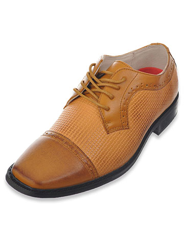 "Joseph Allen Boys' ""Worsted & Woven"" Dress Shoes (Youth Sizes 13 – 4) - CookiesKids.com"