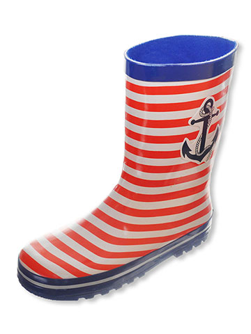 "Joseph Allen Boys' ""Van Brunt"" Rain Boots (Youth Sizes 13 – 4) - CookiesKids.com"