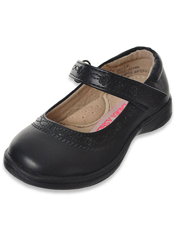 "Laura Ashley Girls' ""Infinity Stitch"" Mary Janes (Toddler Sizes 6 – 12) - CookiesKids.com"