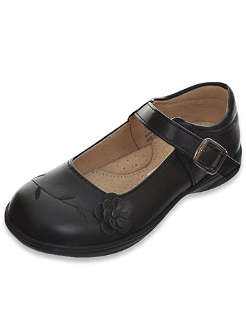 "Laura Ashley Girls' ""Flower Solo"" Mary Janes (Toddler Sizes 6 – 12) - CookiesKids.com"