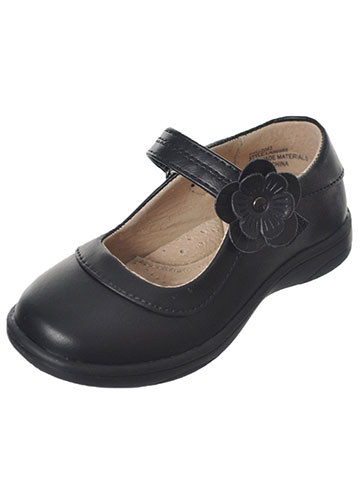 "Laura Ashley Girls' ""Lined Floral Burst"" Mary Janes (Toddler Sizes 6 – 12) - CookiesKids.com"
