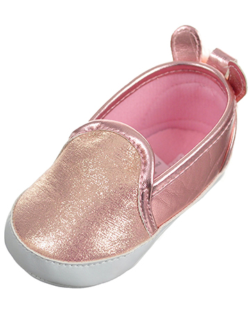 Laura Ashley Baby Girls' Slip-On Booties - CookiesKids.com