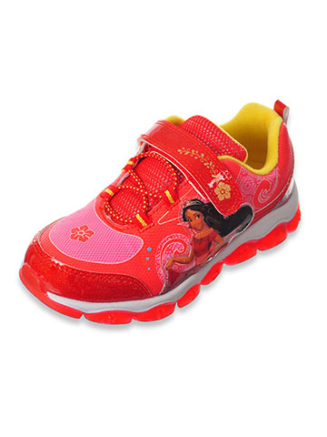 Disney Elena of Avalor Light-Up Sneakers (Sizes 7 – 12) - CookiesKids.com