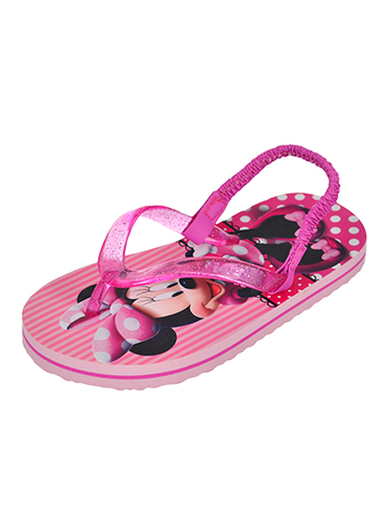 Disney Minnie Mouse Girls' Sandals (Sizes 5 – 12) - CookiesKids.com