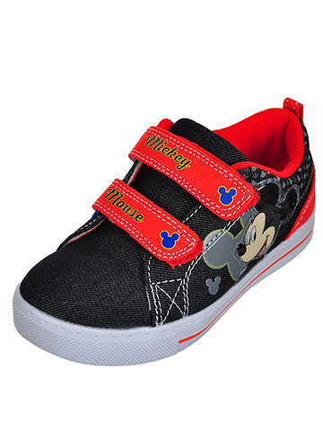 Disney Mickey Mouse Boys' Sneakers (Sizes 7 – 12) - CookiesKids.com