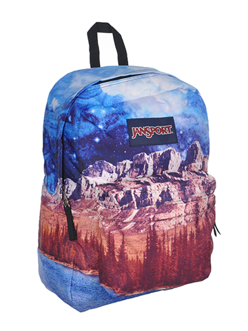 "Jansport High Stakes ""Multi Agate Skies"" Backpack - CookiesKids.com"