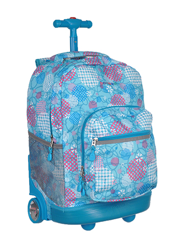 "J World ""Daydream"" Rolling Backpack - CookiesKids.com"