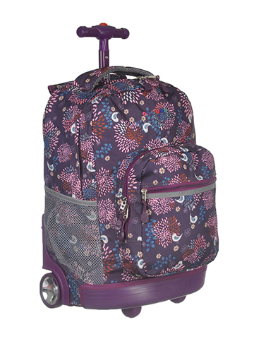"J World ""Baby Birdie"" Rolling Backpack - CookiesKids.com"