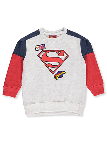 Superman Little Boys' Toddler Sweatshirt (Sizes 2T – 4T) - CookiesKids.com