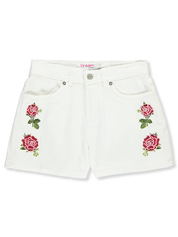Dream Star Girls' Stretch Twill Shorts - CookiesKids.com