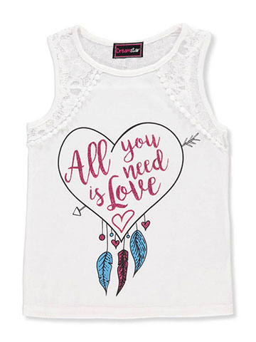 Dream Star Girls' Tank Top - CookiesKids.com