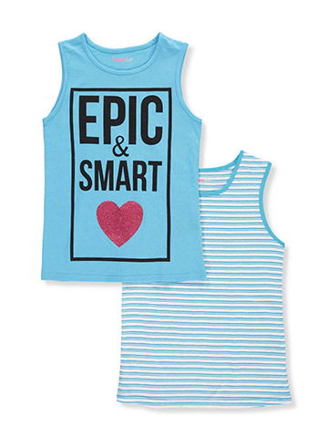 Dream Star Girls' 2-Pack Sleeveless Tops - CookiesKids.com