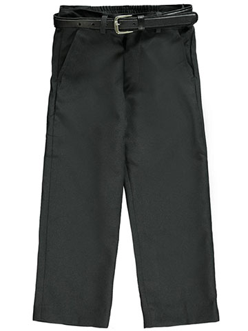 Vittorino Little Boys' Toddler Flat Front Belted Dress Pants (Sizes 2T - 4T) - CookiesKids.com