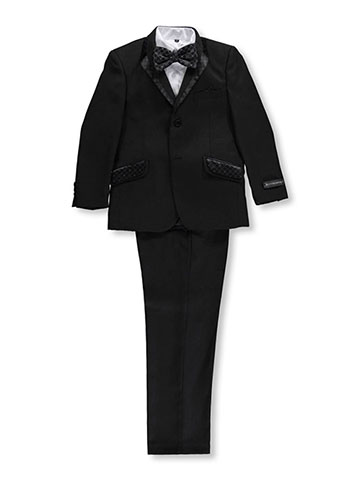 "Kids World Big Boys' ""Ginsome"" 5-Piece Suit (Sizes 8 – 20) - CookiesKids.com"