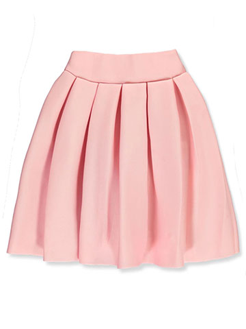 "Kids World Big Girls' ""Pleat Perfection"" Skirt (Sizes 7 – 16) - CookiesKids.com"