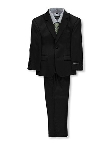 "Kids World Little Boys' Toddler ""Titchwell"" 5-Piece Suit (Sizes 2T – 4T) - CookiesKids.com"