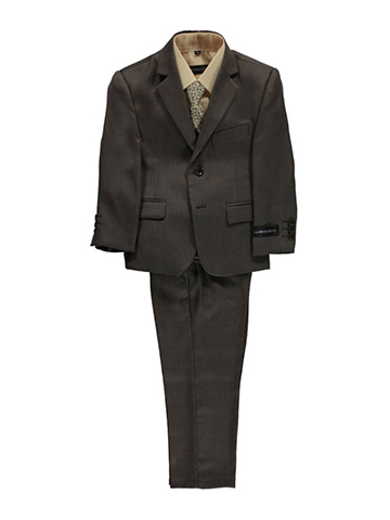 "Kids World Little Boys' Toddler ""Burnham"" 5-Piece Suit (Sizes 2T – 4T) - CookiesKids.com"