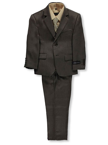 "Kids World Little Boys' ""Burnham"" 5-Piece Suit (Sizes 4 – 7) - CookiesKids.com"